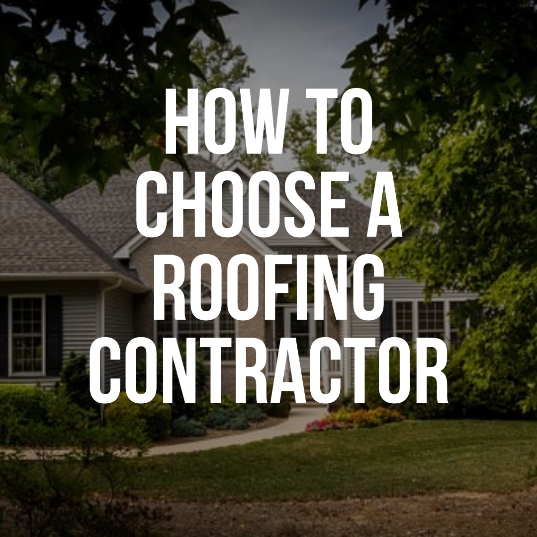 How to Choose A Roofing Contractor - CO Roofing Colorado Springs Roofing Contractor