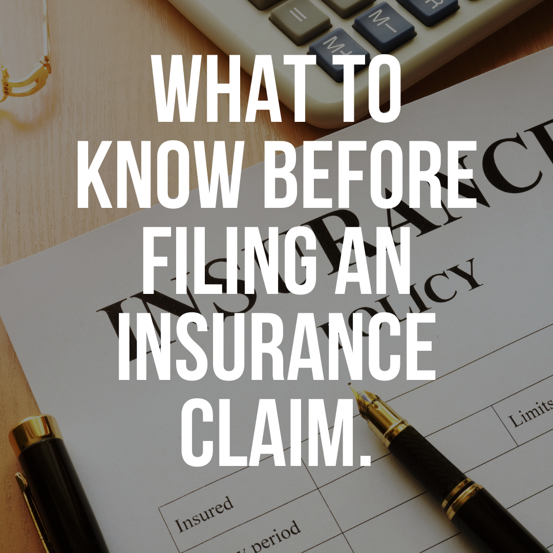 What to know before filing an insurance claim - CO Roofing Colorado Springs Roofing Contractor